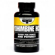 Primaforce YOHIMBINE HCL Fat Burner, Sex Drive, Appetite Control 2.5mg, 90 caps