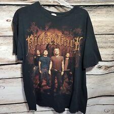 Nickelback 2010 Concert Tour T Shirt Mens Size Xl Black