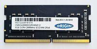 8GB DDR4 2666MHz Laptop RAM ~ PC4 21300 SODIMM Memory 260pin ~ iMac 5K 2019 2020
