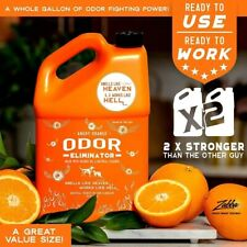 Angry Orange Urine Remover and Carpet Deodorizer for Dogs and Cats (1 Gallon)