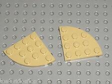 LEGO Star Wars Tan  plate corner round 30565 /sets 9761 10124 3828 8092