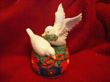 "New Doves Of World Peace ""Tis The Season"" Music Box"
