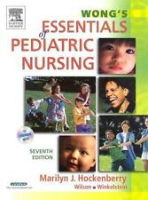 NEW Wong's Essentials of Pediatric Nursing by Hockenberry - CD included