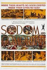 SODOM AND GOMORRAH Movie POSTER 27x40 B Stewart Granger Stanley Baker Pier