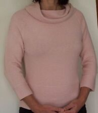 NEW...JUMPER.. PINK  Cowl Neck 3/4 Sleeve...Size:14
