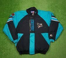 90s Vtg NHL San Jose Sharks Starter Jacket Coat Mens XL RARE Stitched Puffer