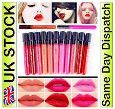 New Lipgloss Lip Matte Lipstick Super Long Lasting Makeup Waterproof Liquid Set