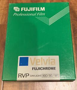 "Fujifilm Fujichrome Velvia 50 RVP Professional Color film 4 x 5"" 01/2000"