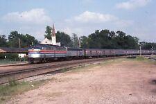Original Slide Amtrak 439 action at Kirkwood MO