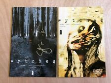 WYTCHES #1,2,3,4~RARE 2nd print of #1~SCOTT SNYDER~SET of 4 books~MOVE ON WAY
