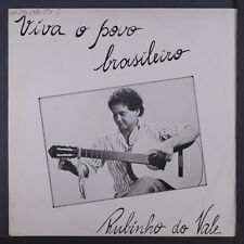 RUBINHO DO VALE: Viva O Povo Brasileiro LP (brazil, '86, autograph obc, tag/woc