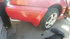 Mazda Mx5 Mk1 Rear Mud Flaps splash gaurds long  Pair in red