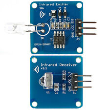 NE555 Infrared Transmitter + IR Receiver Module With 38K Carrier for Arduino EW