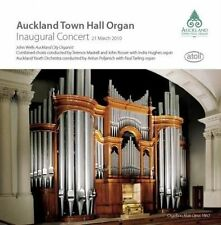 AUCKLAND TOWN HALL ORGAN INAUGURAL CONCERT, 21 MARCH 2010 NEW CD