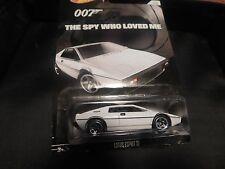 2015 HOT WHEELS  TV SERIES 007 THE SPY WHO LOVED ME LOTUS ESPIRIT S1 HOTWHEELS