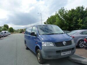 VW TRANSPORTER T5 KOMBI CARAVELLE INDIAN BLUE LL5M WHEELNUT BREAKING