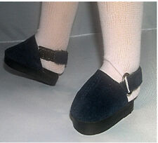 Navy Clogs with Ankle Strap Fits 18 inch American Girl Dolls