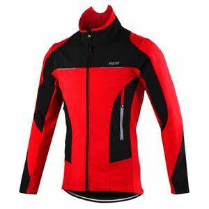 Men Jacket Thermal Windproof Cycling Mtb Bike Bicycle Waterproof Sport Clothing