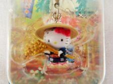Kawai Sanrio Hello Kitty Gottochi Charm Niigata Rice  key chain M