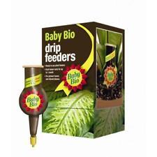 Baby Bio RTU 40ml Liquid Drip Feeders Plant Food 4 House Plants Pack x4