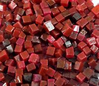 Roter Rubin Edelstein Raues Los Afrikanische 50 Karat Natürliche Würfelform