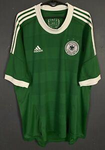 MEN'S ADIDAS GERMANY 2012/2013 DEUTSCHLAND SOCCER FOOTBALL SHIRT JERSEY SIZE XL