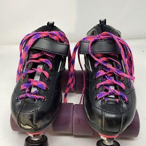 Women's Roller Skates Rock GT 50 Size 4 Black Sure Grip Clawz 62 MM Wheels