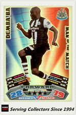 2011-12 Topps Match Attax Card Man Of Match Foil 393 Demba Ba