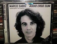MARCO SABIU - AUDIO ERGO SUM **NUOVO SIGILLATO**