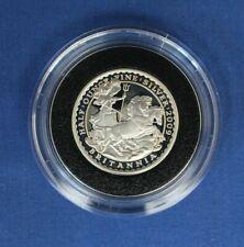 2009 Silver Proof 1/2oz Britannia £1 coin in Capsule