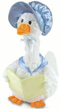 Cuddle Barn Blue Mother Goose Reads Nursery Rhyme Stories Plush Toy CB2850