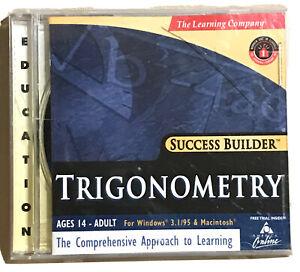 The Learning Company Success Builder Trigonometry CD-Rom Windows 95/Mac