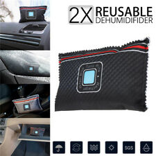 2x Car Dehumidifier Reusable Anti Mist Moisture Condensation Absorbing Dry Bag