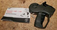 Avery Dennison Monarch 1136 Price Label Gun Double Line Excellent Used Condition
