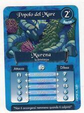 figurina - CARD GORMITI - SERIE 2 MURENA
