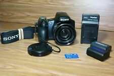 Sony Cyber-shot DSC-HX1 9.1MP Digital Camera - Black 20x zoom