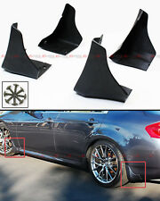 For 2014-17 Infiniti Q50 Q50S OE Style 4pc Front & Rear Splash Mud Flaps Guards