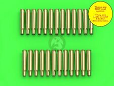 Master 1/16 M1919 (AN/M2) Browning .30 Cal 7.62mm Empty Shells (25 pc) GM-16-003