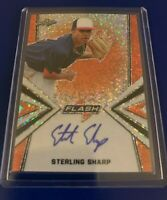 2019 Leaf Flash Sterling Sharp Marlins Orange Auto 6/10
