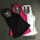 Women Sports Vest Tank Fitness Gym Stretch Workout Sleeveless Blouse Top T-Shirt
