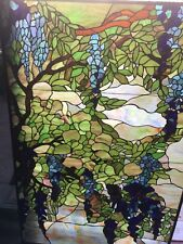 STAINED GLASS Grape Landscape