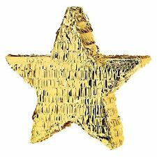 Amscan 45cm Gold Foil Star Pinata Party Game