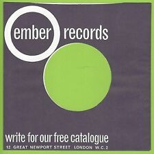 EMBER REPRODUCTION RECORD COMPANY SLEEVES - (pack of 10)