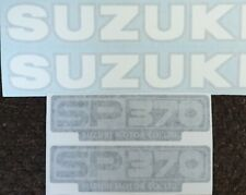 SUZUKI SP370 SP400 DECAL KIT