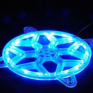 Silverstone FG141 Plastic 140mm Fan Grille w/ 28pcs RGB LED Strip