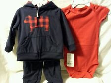 Carter's Baby Clothes: Boy - 3 pc set - 9 months - NWT