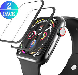 For Apple Watch SE 6 5 4 3 2 1 Shockproof Slim Tempered Glass Screen Protector