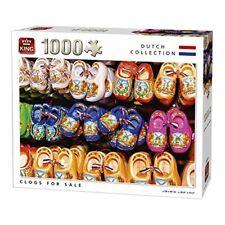 King 5678 Clogs Jigsaw Puzzle (1000-piece) - Sale 1000 Piece Kng0 Dutchpc