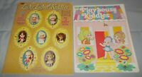 Vintage Liddle Kiddles Lucky Locket Kiddles/Playhouse Kiddles Paper Dolls New
