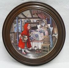 """1988 """" Little Red Riding Hood """" Knowles Limited Edition Plate"""